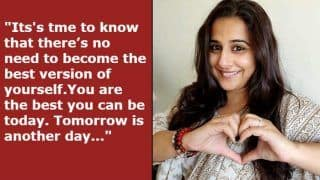 International Women's Day 2019: Vidya Balan's Post Asking Women to Stop Being 'Best' is All You Need to Understand as a Woman
