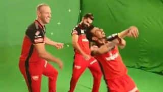 Virat Kohli, Yuzvendra Chahal And AB de Villiers do The Baarati Dance-Watch Funny Video