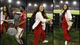 IPL 2019: Preity Zinta Performs Bhangra to Enthrall Mohali Crowd Before Virat Kohli-Led RCB Register Maiden Win Over KXIP | SEE PICS
