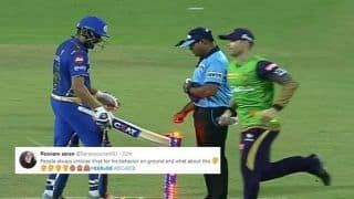 IPL 2019: Move over Virat Kohli, Rohit Sharma Gets TROLLED For Knocking The Bails Down During Kolkata Knight Riders vs Mumbai Indians | SEE POSTS