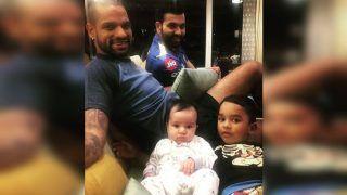 IPL 2019, DC v MI: Shikhar Dhawan, Rohit Sharma Spend Time With Family Ahead of Clash at Feroz Shaha Kotla | SEE PIC