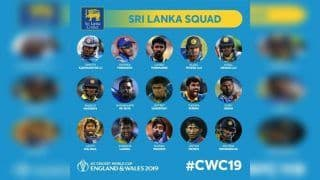 Lasith Malinga, Angelo Matthews Included as Sri Lanka Announce 15-Member Squad For ICC World Cup 2019, Dimuth Karunaratne to Lead Side
