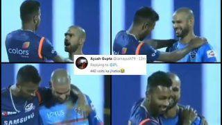 IPL 2019: Hardik Pandya-Shikhar Dhawan Bromance Steals Show Ahead of Delhi Capitals vs Mumbai Indians at Feroz Shah Kotla | WATCH VIDEO