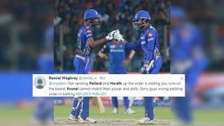 IPL 2019: Krunal Pandya-Hardik Come Ahead of Keiron Pollard During Delhi Capitals vs Mumbai Indians at Feroz Shah Kotla, Twitter Troll Decision | SEE POSTS