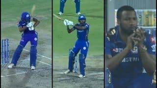 IPL 2019: Hardik Pandya's MS Dhoni-Style Helicopter During Delhi Capitals vs Mumbai Indians Wins Keiron Pollard's Applause | WATCH VIDEO
