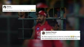 IPL 2019: KL Rahul Abuses On-Mic During RCB v KXIP Live Match, Gets TROLLED on Twitter | SEE POSTS