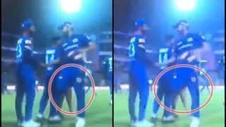 IPL 2019: Rishabh Pant Trying to Trip Rohit Sharma After Mumbai Indians Beat Delhi Capitals is Unmissable | WATCH VIDEO