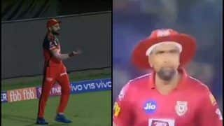 IPL 2019: Virat Kohli's Send-Off to Ravichandran Ashwin After Catch During RCB v KXIP is Unmissable | WATCH VIDEO