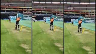 IPL 2019: Rashid Khan Does a MS Dhoni Ahead of Rajasthan Royals vs Sunrisers Hyderabad, Plays Helicopter Shot | WATCH VIDEO