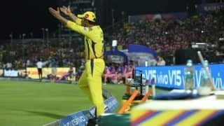 IPL 2019: MS Dhoni Fined 50 Per Cent of Match Fees For Breaching Code of Conduct During RR v CSK