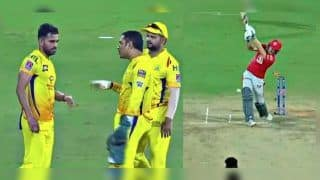 IPL 2019: MS Dhoni, Suresh Raina, Deepak Chahar Plot David Miller's Dismissal as CSK Beat KXIP by 22 Runs | WATCH VIDEO