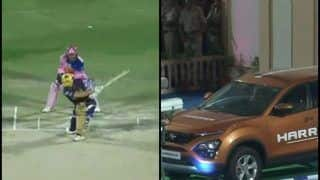 IPL 2019: Chris Lynn Smashes Huge Six Off Shreyas Gopal's Bowling, Hits Car's Windshield | WATCH VIDEO