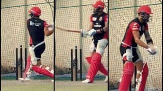 IPL 2019: Virat Kohli Fine-Tunes New Shot in Nets at Mohali Ahead of KXIP v RCB | WATCH VIDEO