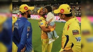 IPL 2019: MS Dhoni's Daughter Ziva Kissing Suresh Raina After CSK Beat KKR at Eden Gardens Will Melt Your Heart | WATCH VIDEO