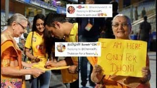 IPL 2019: MS Dhoni's Heartwarming Gesture Towards Old Fan After MI v CSK at Wankhede Creates Buzz | WATCH VIDEO