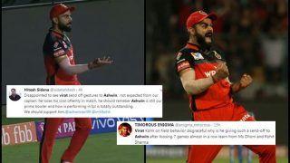 IPL 2019: Virat Kohli Gets TROLLED For His Send-Off to Ravichandran Ashwin During RCB v KXIP | SEE POSTS