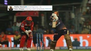 IPL 2019: Robin Uthappa Gets Brutally Trolled For Slow Knock During KKR v RCB at Eden Gardens | SEE POSTS