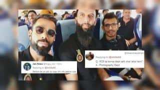 IPL 2019: Virat Kohli Shares Picture With Moeen Ali, Yuzvendra Chahal on Reaching Mohali Ahead of KXIP v RCB, Gets TROLLED | SEE POSTS
