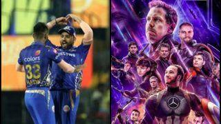 IPL 2019: Hardik Pandya Wants Rohit Sharma to Join Avengers After Mumbai Indians Beat Chennai Super Kings in El Classico | SEE POST