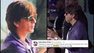 IPL 2019: Shah Rukh Khan's Presence at Eden Gardens During KKR v CSK Creates Early Twitter Buzz | SEE POSTS