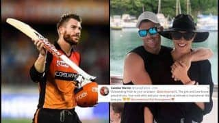 IPL 2019: David Warner's Wife Posts Heartwarming Message After Breathtaking Knock During Sunrisers Hyderabad vs Kings XI Punjab | POST