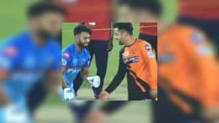 IPL 2019: Rishabh Pant, Rashid Khan Have Fun Ahead of DC v SRH at Kotla | WATCH VIDEO