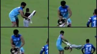 IPL 2019: Rishabh Pant Playing With Shikhar Dhawan' Kid After DC Beat KKR Reminds Twitter of Babysitting Episode | WATCH VIDEO
