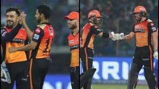 IPL 2019, Delhi vs Hyderabad Match 16 Report: Johny Bairstow, Bhuvneshwar Kumar, Mohammed Nabi Star as SRH Beat DC by 5 Wickets to Top Points Table