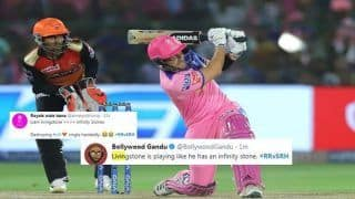 IPL 2019: Liam Livingstone is Like Infinity Stone, Twitter Praises Englishman For Breathtaking Knock During Rajasthan Royals vs Sunrisers Hyderabad | SEE POSTS