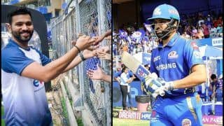 IPL 2019: ESA Underprivileged Kids Cheer For Rohit Sharma During MI v RR at Wankhede Stadium | WATCH VIDEO