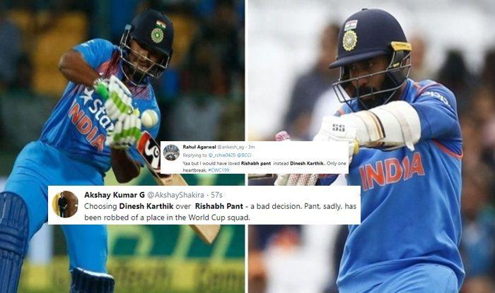 Rishabh Pant World Cup Squad Team India