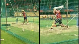 IPL 2019: Andre Russell, Chris Lynn Smash The Ball Ahead of RCB v KKR at Chinnaswamy | WATCH VIDEO