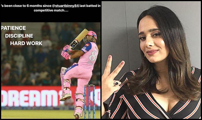 IPL 2019: Mayanti Langer Praises Husband Stuart Binny After 11-Ball 33 Cameo During KXIP v RR   SEE POST