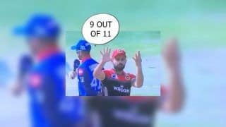 IPL 2019: Virat Kohli's Hilariously Reacts After Losing Nine Out Of 11 Tosses Ahead of DC vs RCB | WATCH VIDEO