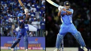 IPL 2019: Hardik Pandya Plays MS Dhoni's Signature Helicopter Shot For Six During MI v RR at Wankhede Stadium   WATCH VIDEO