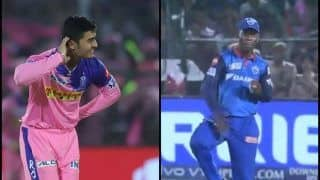 IPL 2019: Riyan Parag's Dance to Sherfane Rutherford's Shikhar Dhawan-Style Thigh-Five, Celebrations That Ruled During Rajasthan Royals vs Delhi Capitals