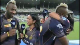 IPL 2019: Jassym Lora Interviews Birthday Boy Andre Russell After Eden Gardens Heroics During Kolkata Knight Riders vs Mumbai Indians | WATCH VIDEO