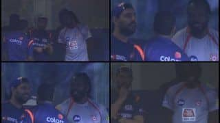 IPL 2019: Old Mates Yuvraj Singh-Chris Gayle Share a Joke Ahead of MI v KXIP at Wankhede Stadium | WATCH VIDEO