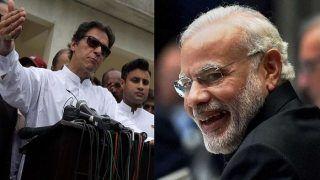 Pakistan PM Imran Khan Dials Narendra Modi, Congratulates Him on Landslide Victory in 2019 General Election