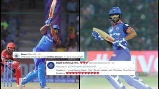 IPL 2019: Shikhar Dhawan Slams 37th Fifty During Delhi Capitals vs Royal Challengers Bangalore, Gabbar Sets Twitter on Fire | SEE POSTS
