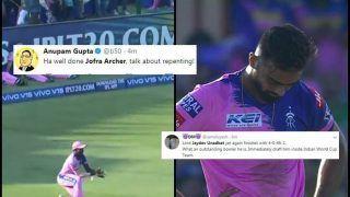 IPL 2019: Jofra Archer, Jaydev Unadkat Gets Trolled During RR v MI at Sawai Mansingh Stadium | SEE POSTS