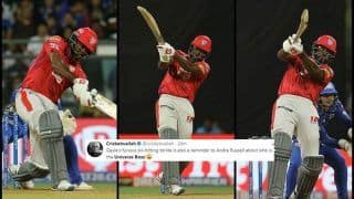 IPL 2019: Universe Boss Chris Gayle Sets Twitter on Fire With Seven Sixes During MI v KXIP | SEE POSTS