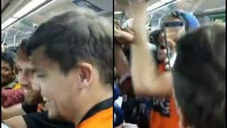 IPL 2019: MS Dhoni Chants in Hyderabad Metro by SRH Fans After CSK Loss at Rajiv Gandhi International Stadium is Going Viral | WATCH VIDEO