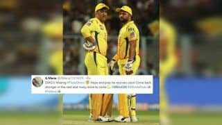 IPL 2019: MS Dhoni Rested, Suresh Raina Leads CSK Against SRH at Rajiv Gandhi International Stadium, Twitter Heartbroken | SEE POSTS