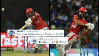 IPL 2019: KL Rahul Smashes Maiden IPL Century During MI v KXIP, Sets Twitter Ablaze | SEE POSTS