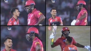 IPL 2019: Chris Gayle-Yuzvendra Chahal's Humorous Mid-Pitch Banter During KXIP v RCB Will Win Your Heart | WATCH VIDEO
