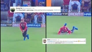 IPL 2019: Watch Virat Kohli Drop a Simple Catch of Chris Gayle During KXIP v RCB, Twitter TROLLS Bangalore Captain | SEE POSTS