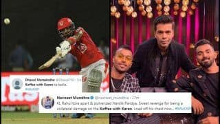 IPL 2019: KL Rahul Smashes Hardik Pandya For 25 Runs Off an Over During MI v KXIP, Here's Why Koffee With Karan is Trending | SEE POSTS