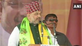 बीजेपी अगली सरकार बनाने पर अनुच्छेद 370 हटा देगी, लाएगी एनआरसी: अमित शाह