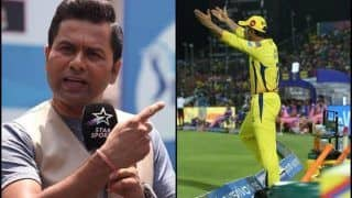 IPL 2019: Aakash Chopra Lambasts Umpire And MS Dhoni After 'No-Ball' Controversy in RR vs CSK Match | See Post